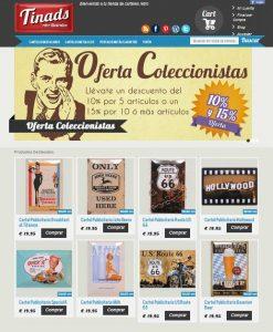 Tienda Online Carteles publicitarios metálicos