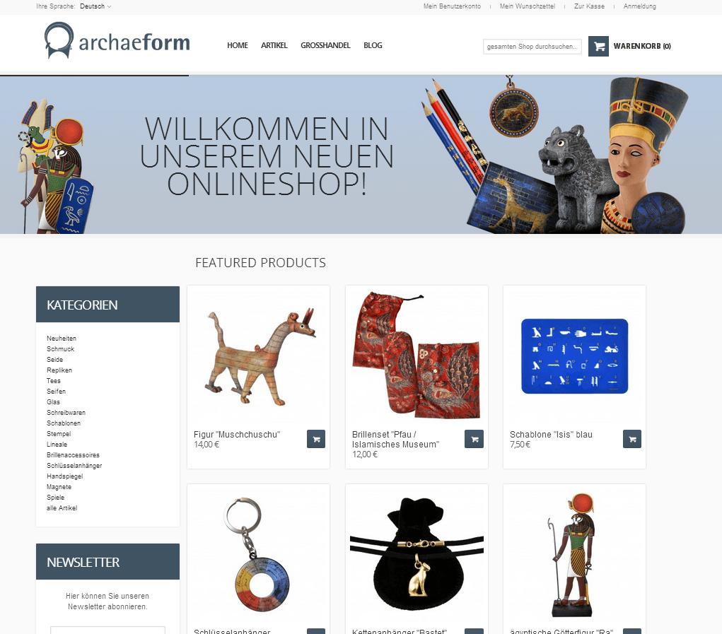 Tienda Online Merchandising Museos